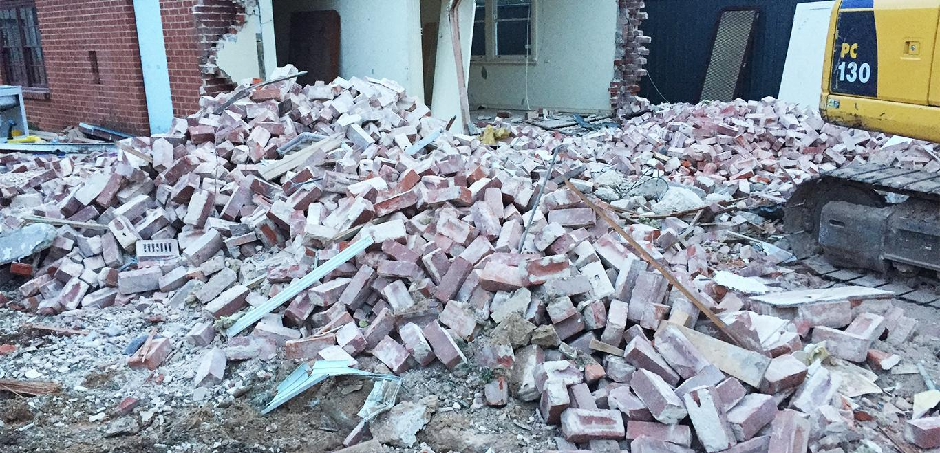 Our new customers are always amazed at the complexity of our demolition services.